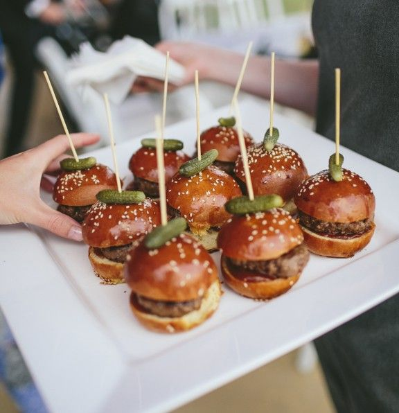 Late night wedding food ideas