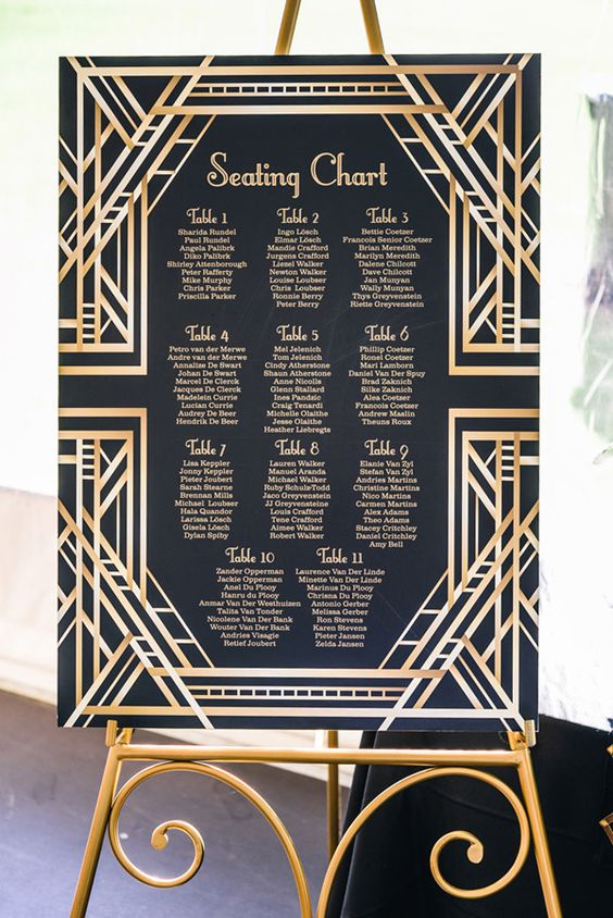 seating chart ideas for the creative soul toronto wedding planners. Black Bedroom Furniture Sets. Home Design Ideas
