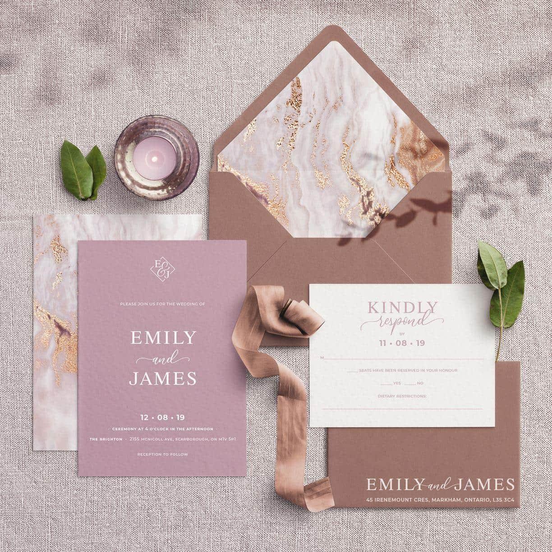 Toronto Wedding Planner - Stationery & Invitation